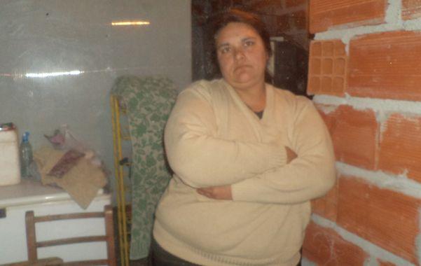 En Zavalla. Liliana Montenegro dijo entonces haber sido despojada de sus hijos.