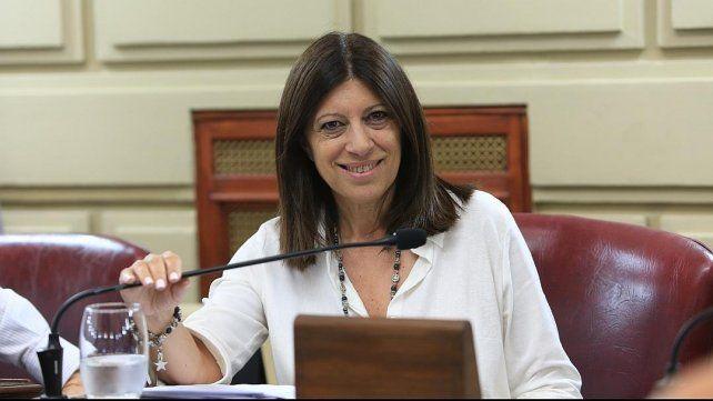 La diputada provincial socialista Clara García.