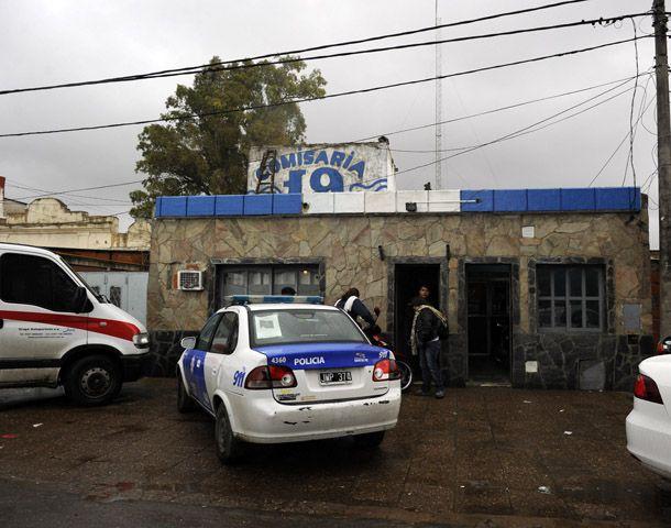 El agresor fue detenido y llevado a la seccional 19ª de policía. (Foto: C. Mutti Lovera)