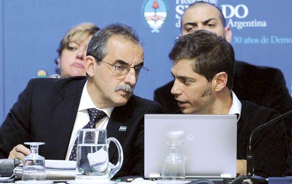 Ideólogos. La prórroga del blanqueo fue interpretada como un aval para Axel Kicilloff y Guillermo Moreno.