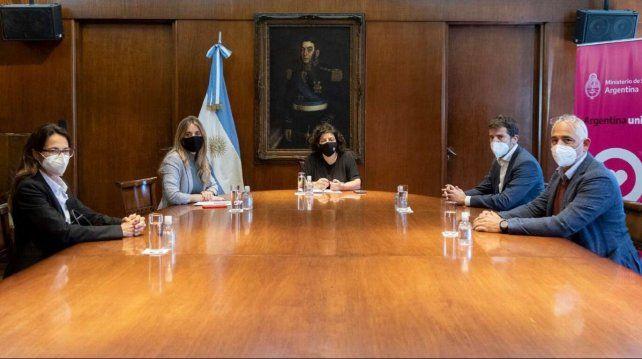Casa Rosada. Los directivos de la filial local de la farmacéutica fueron citados por la ministra Vizzotti el miércoles pasado.
