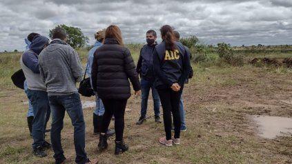 Marcelino Escobar, donde se hallaron los cuerpos, está 130 kilómetros al norte de la ciudad de Santa Fe.