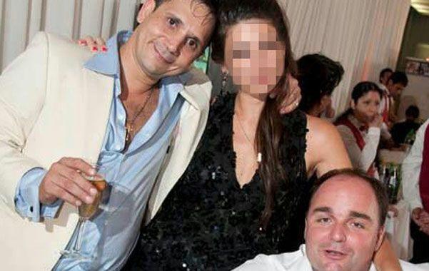 Luis Medina y Germán Tobo cuando compartían negocios y sonrisas. Los dos fueron asesinados a sangre fría