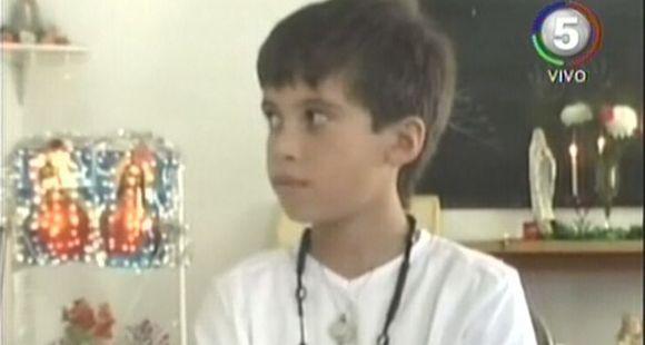 Un niño de Entre Ríos asegura tener poderes sanadores tras haber visto al Sagrado Corazón