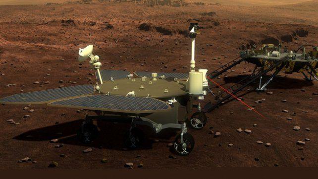 Ilustración del Tainwen 1 en Marte.