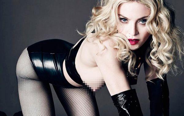 La reina del pop realizó una producción para la edición de mayo de la revista LUomo Vogue.
