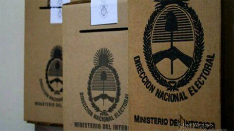 Las elecciones internas (Paso) se realizarán el 12 de septiembre y las generales el 14 de noviembre.