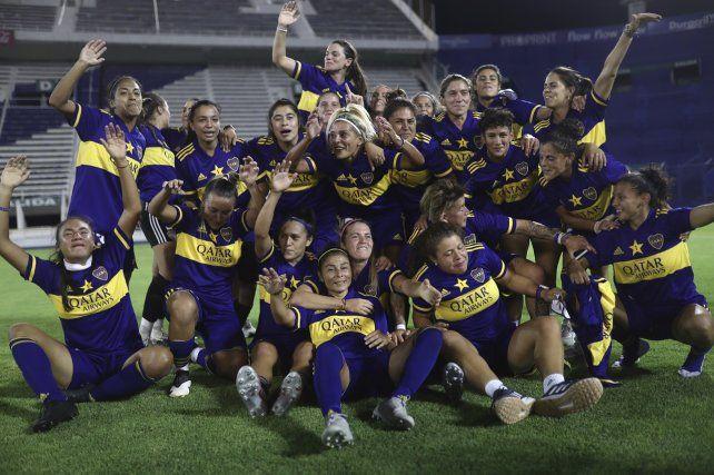 Boca goleó a River 7 a 0 y se convirtió en el primer campeón del femenino de AFA