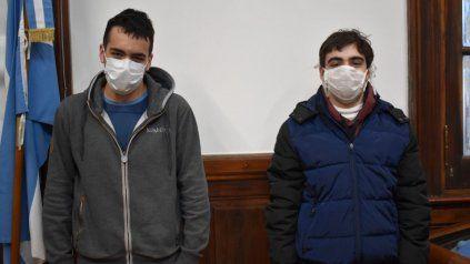 Federico Mierez y Julián Cabrera, alumnos premiados del Poli.