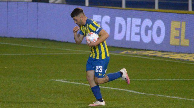 Ignacio Russo convirtió su primer gol en la primera de Central. Mantuvo al equipo en partido. No alcanzó.