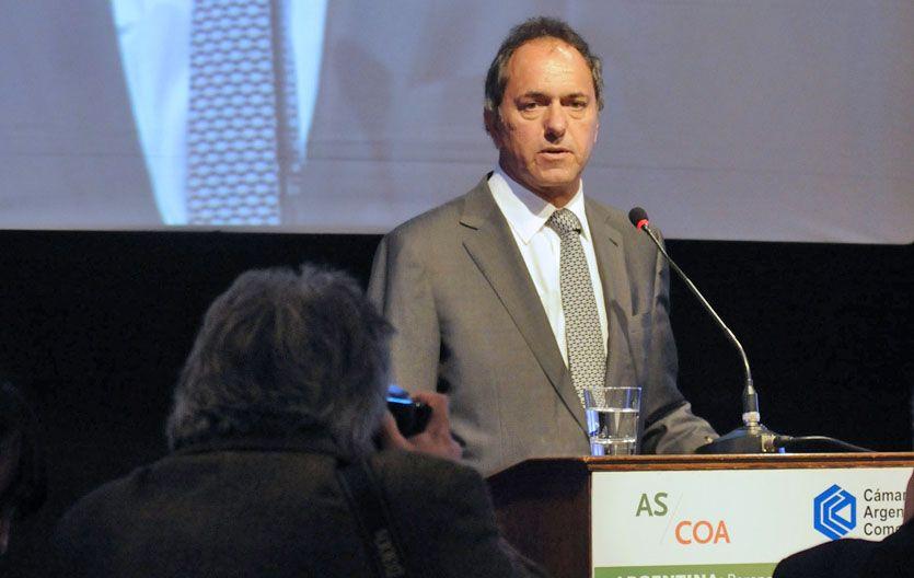 Idea fija. Scioli propone resolver la candidatura presidencial en internas.