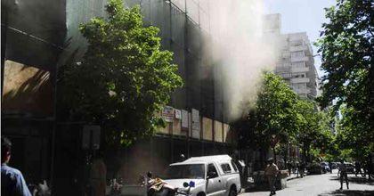 Evacuaron el Shopping del Siglo por un incendio y hubo caos en el tránsito