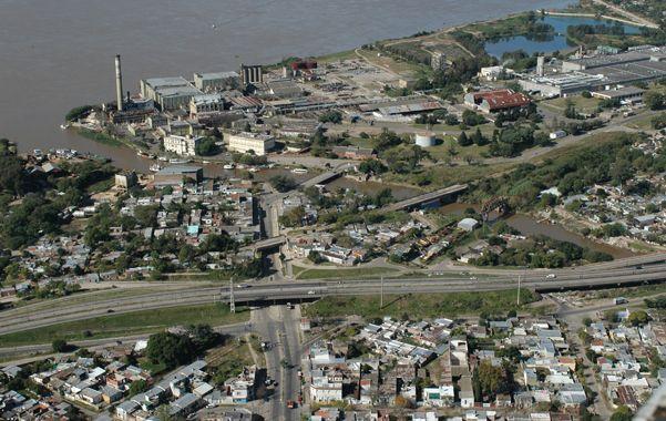 Saneamiento. El proyecto que quiere activar la Municipalidad contempla trabajos en los márgenes del brazo seco del Saladillo.
