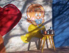 Inauguran un mural de Noke por el Día Nacional de la Fibrosis Quística