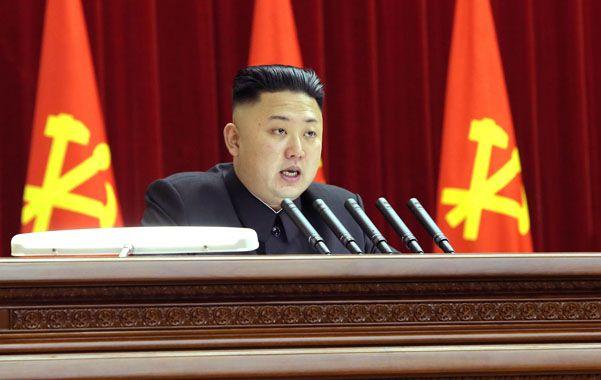 Viraje. El joven dictador comunista Kim Jon Un habló ayer a la Asamblea Nacional. Sus amenazas habrían terminado.