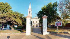 La parroquia San Lorenzo Mártir, de la ciudad homónima.