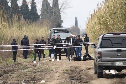 en medio de la nada. El cadáver de la travesti fue hallado en un camino semirural de Cabín 9
