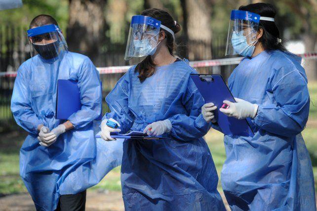 Rosario registró 72 muertes por coronavirus en los últimos cuatro días