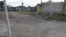 Lucas Rolón creció en la canchita de Quintana al 1800 y a metros de allí lo mataron de un balazo y puñaladas.