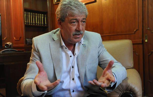 Federado. Eduardo Buzzi aprovechó la victoria de su sector en la Federación Agraria para lanzar la candidatura.