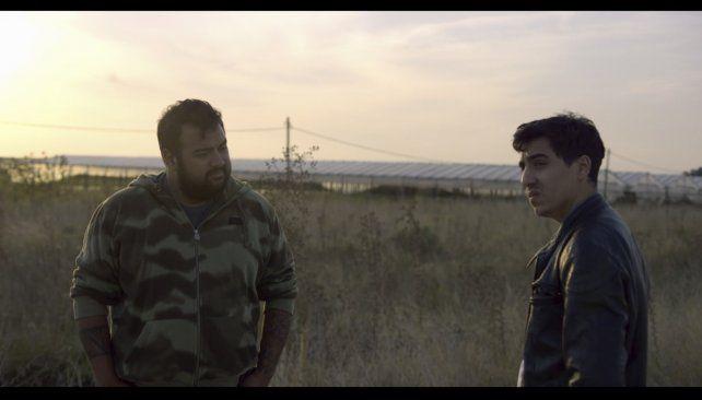Realidad y ficción. Rodrigo Torres y Pablo Saldias Kloster se interpretan a sí mismos en Implosión.