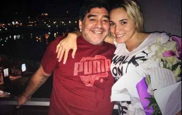 Rocio compartió una noche en nordelta junto a Diego