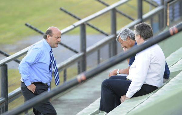 Speciale se mostró optimista sobre los resultados del acuerdo. (Foto: E.Rodríguez)