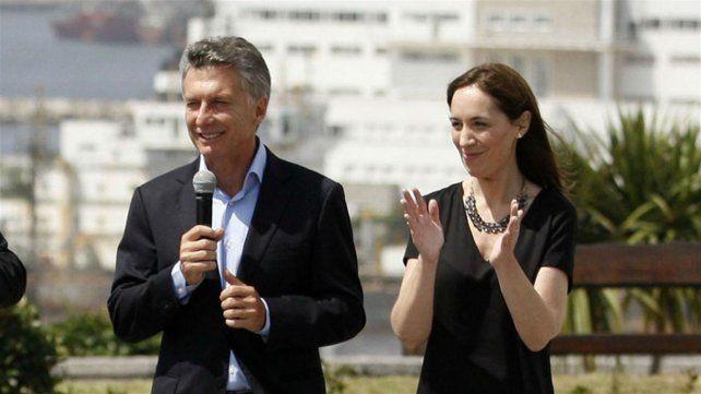 Macri y Vidal pasaron por un momento tenso en Mar del Plata.