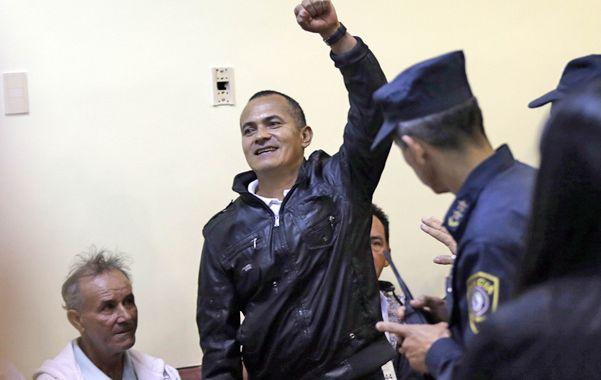 Rebelde. Uno de los campesinos acusados. Habían tomado la hacienda de Curugyaty en reclamo de tierras.