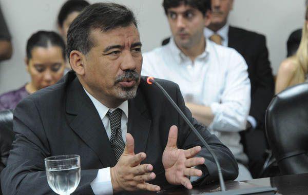 Horacio Alfonso. El juez había declarado constitucional la ley de medios.