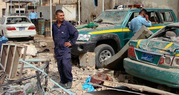 Un atacante suicida mató a 18 policías en Irak