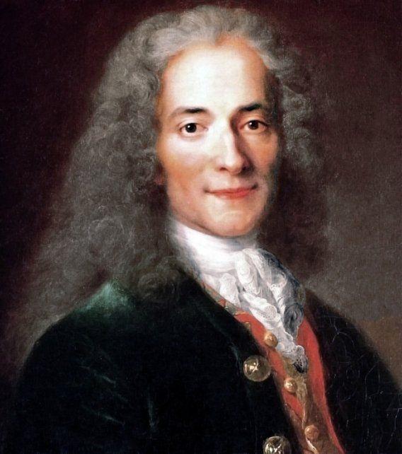 Voltaire, por Nicolas de Largillière.