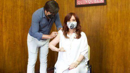 Coronavirus: Cristina Fernández se puso la vacuna Sputnik V