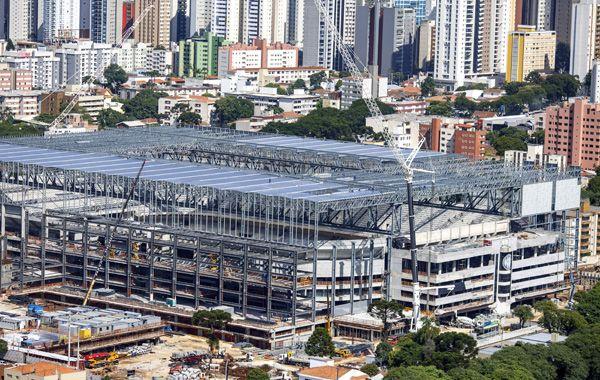 El estadio Arena de Baixada