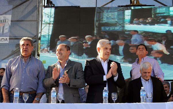 Festejo. En Ensenada se recordó la nacionalización de la petrolera YPF.