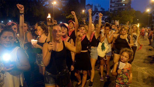 Por el clima, se suspendió la marcha contra la violencia machista