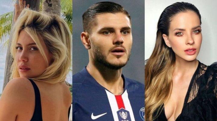 Escándalo en la farándula. Wanda Nara, Mauro Icardi y China Suárez.