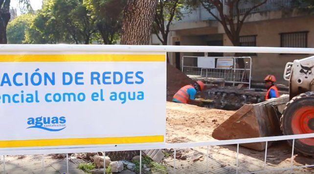 Habrá baja presión de agua en algunas zonas de Rosario por trabajos de Aguas Santafesinas