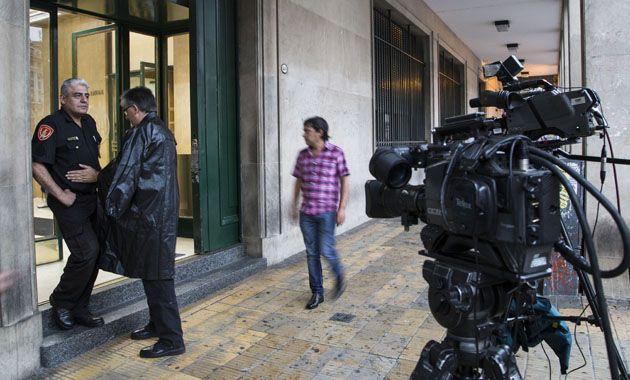 El frente de la Fiscalía donde trabajaba Nisman.
