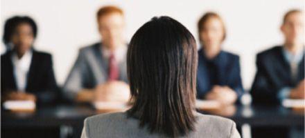 Calma y confianza en una entrevista laboral