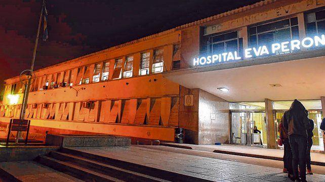 Eva Perón. El hospital de Baigorria