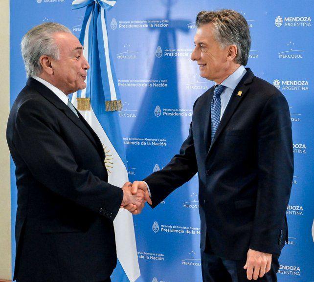 Los presidentes de Brasil