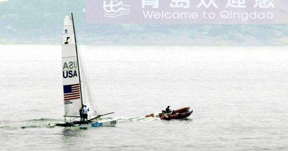 Se suspendió la jornada del yachting por falta de viento