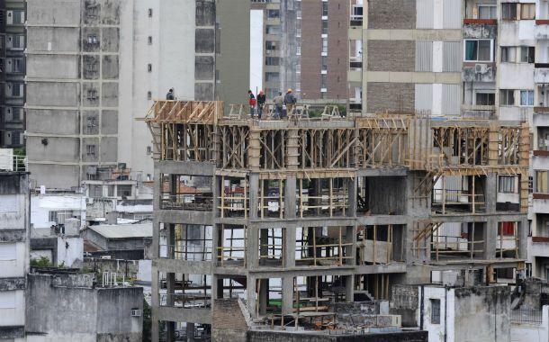 En stand by. Según el estudio de Austral el declive de la construcción en el primer bimestre del año superó el 18 por ciento. (Foto: S. Salinas)