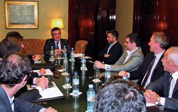 El presidente del BCRA convocó a las autoridades de organismos vinculados en la supervisión del sistema financiero.