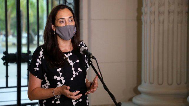 Erika Gonnet. Ministra de Ambiente y Cambio Climático de Santa Fe.