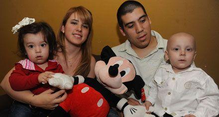 Un nene de sólo dos años superó con éxito un trasplante hepático