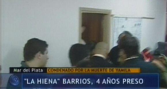Condenaron a cuatro años de prisión efectiva a La Hiena Barrios