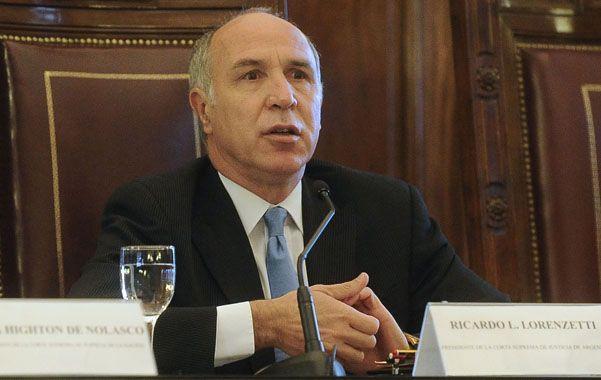 Controversia. El presidente de la Corte admitió que la batalla judicial no termina con el fallo a favor del gobierno.