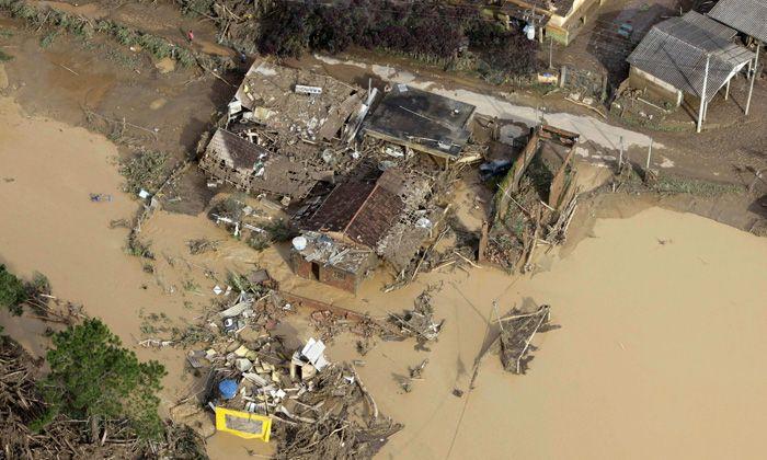 Inundaciones en Brasil: suman 444 los muertos y la presidenta prometió acciones concretas
